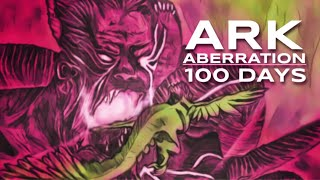 I Survived 100 Dąys of Hardcore ARK Aberration | Survival Evolved