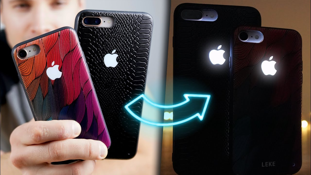 A Glowing Apple Logo Iphone Case Exists Youtube
