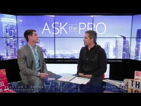 Ask the Pro with Brandon T. Adams