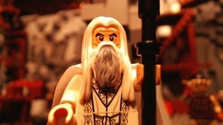 LEGO Lord of the Rings, Saruman & The Orc Forges (Brickfilm)