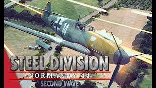 Dominating The Skies Steel Division Normandy 44 Gameplay Pointe du Hoc, 4v4
