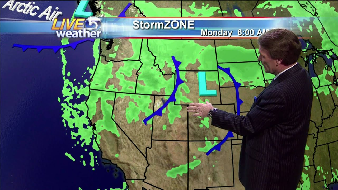 Ksl Weather Map.Dan Pope Evening Weather Ksl Tv 11 21 10 Youtube