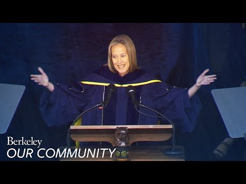 Teach For America Founder Wendy Kopp delivers UC Berkeley Commencement address