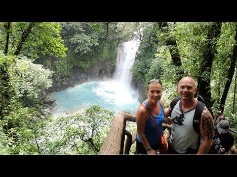 Costa Rica, top ten tours, Rio celeste, waterfall, Liberia HD