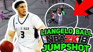 USING LIANGELO BALL'S NBA 2K18 JUMPSHOT! PRISON-FREE LIANGELO?!? NBA 2K18