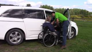 Multi-Lift Disability Handicap Lift w/Speedy-Bar in Honda Odyssey