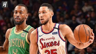 Boston Celtics vs Philadelphia 76ers - Full Game Highlights | January 9, 2020 | 2019-20 NBA Season