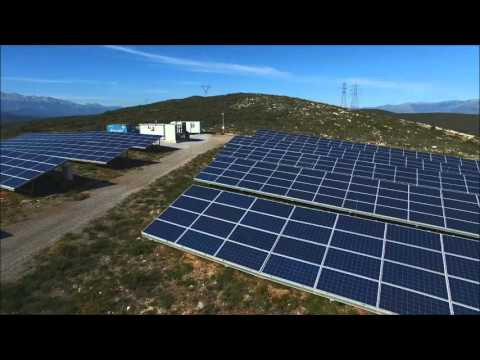 EREN PV power plants in Greece (2016)