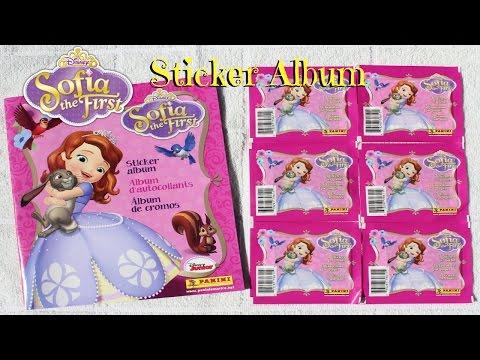 Disney Sofia The First Sticker Album