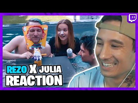 Ju reagiert auf Julia Beautx und Rezo im Pool - Warum SIMP?? | Julien Bam Twitch Highlight - JUcktmichnicht
