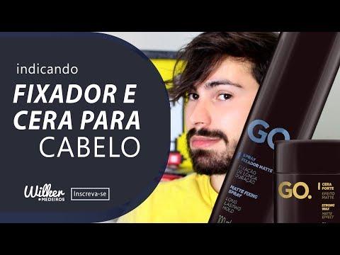 Wilker Medeiros -  FIXADOR E CERA EFEITO MATTE  PARA CABELO MASCULINO - INDICANDO
