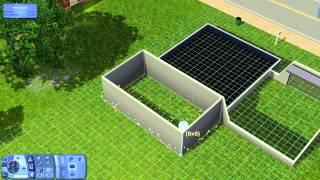 Fundação com Paredes - The Sims 3 EP1