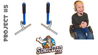 Aircraft Control Stick - SonicDad  Project #5
