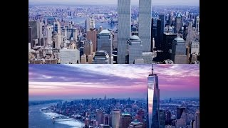 9/11 Usa New York One World Trade Center v/s Twin towers May 31, 2015