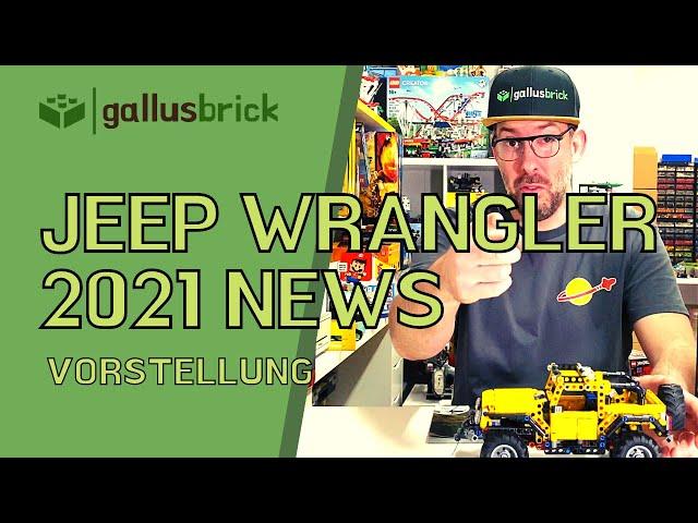Jeep Wrangler von LEGO Technic und alle 2021 Neuheiten