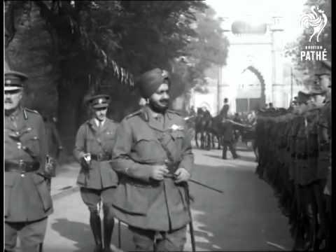 Maharaja Bhupinder Singh Of Patiala in London 1921