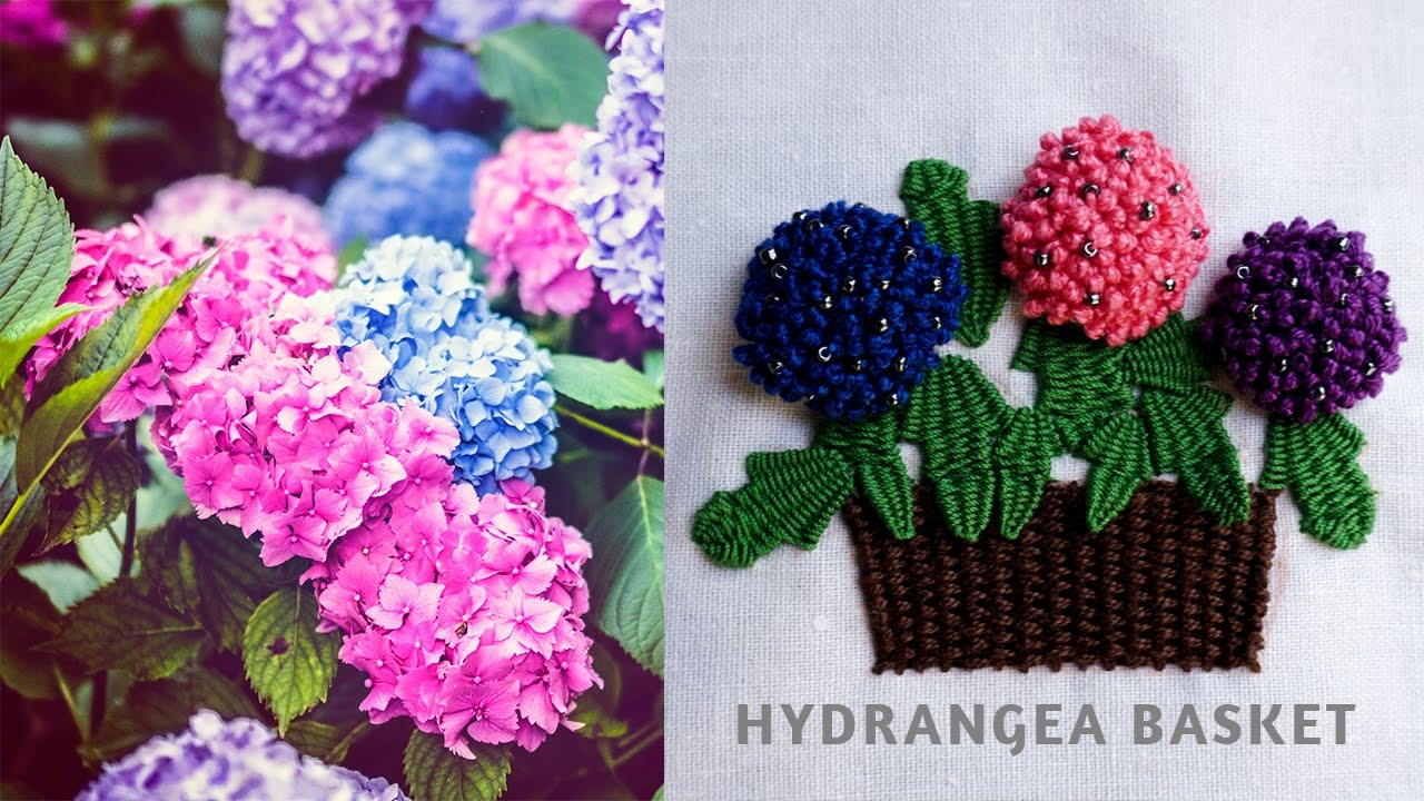 how to make hand work flowers