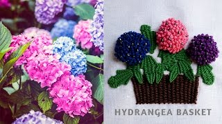Hand Embroidery Flowers Stitch by Diy St...