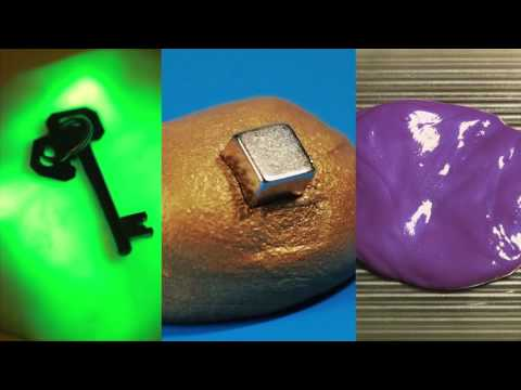 Intelligens Gyurma, mágneses - csillám málna