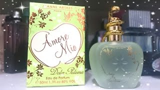 Resenha Perfume Amore Mio Dolce Paloma (Jeanne Arthes)