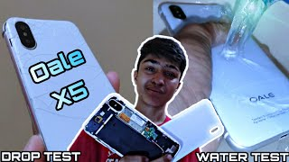 Oale X5 Review Drop Test Water Test Najaf Technical Pk!