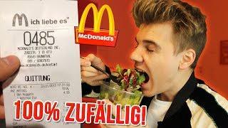 100% ZUFÄLLIG bei McDonalds bestellt !! 🍔🍟