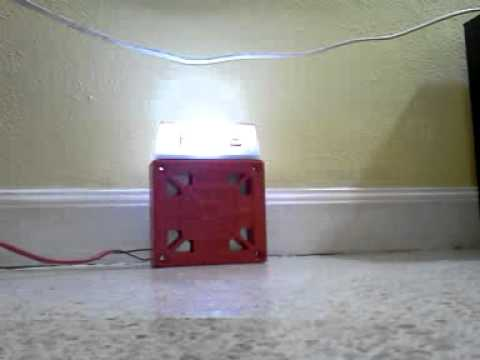COOPER WHEELOCK NS-24MCW FIRE ALARM STROBE HORN 24 VDC ...  |Wheelock Fire Alarm Horn Strobe