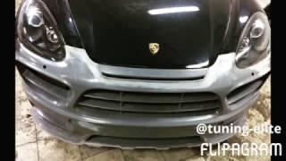 Тюнинг Краснодар Porsche Cayenne 958 Бампер Hamann (tuning-elite.com)