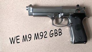 WE NEW M92 GBB 試射   Airsoft Pistol 生存遊戲 瓦斯手槍 #12