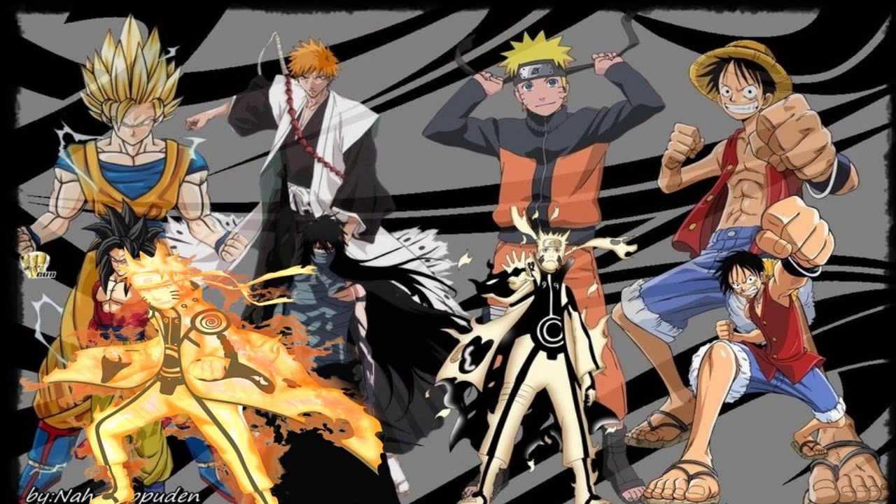 Vs Natsu Vs Ichigo Naruto Memes Luffy Vs Vs Goku
