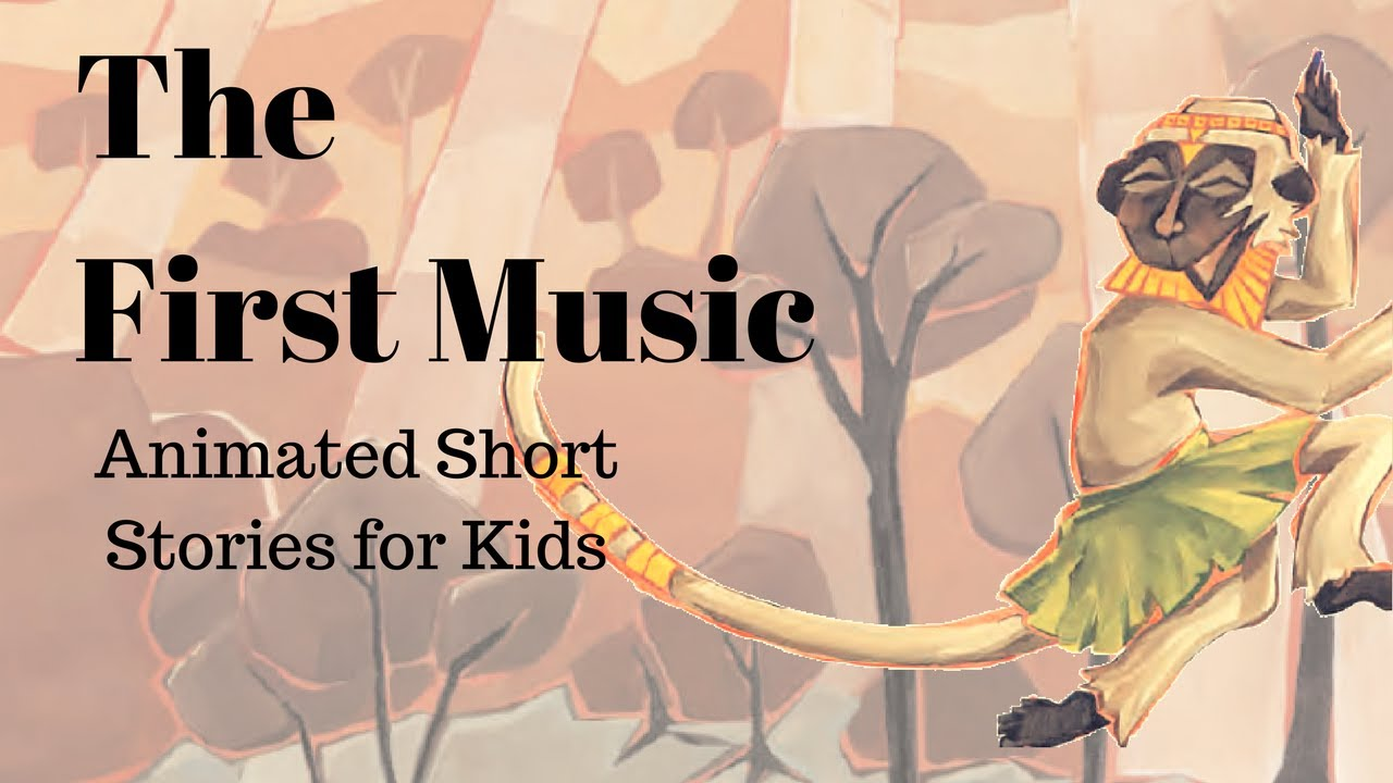 The First Music: A Folktale from Africa (Animated Stories for Kids) - YouTube