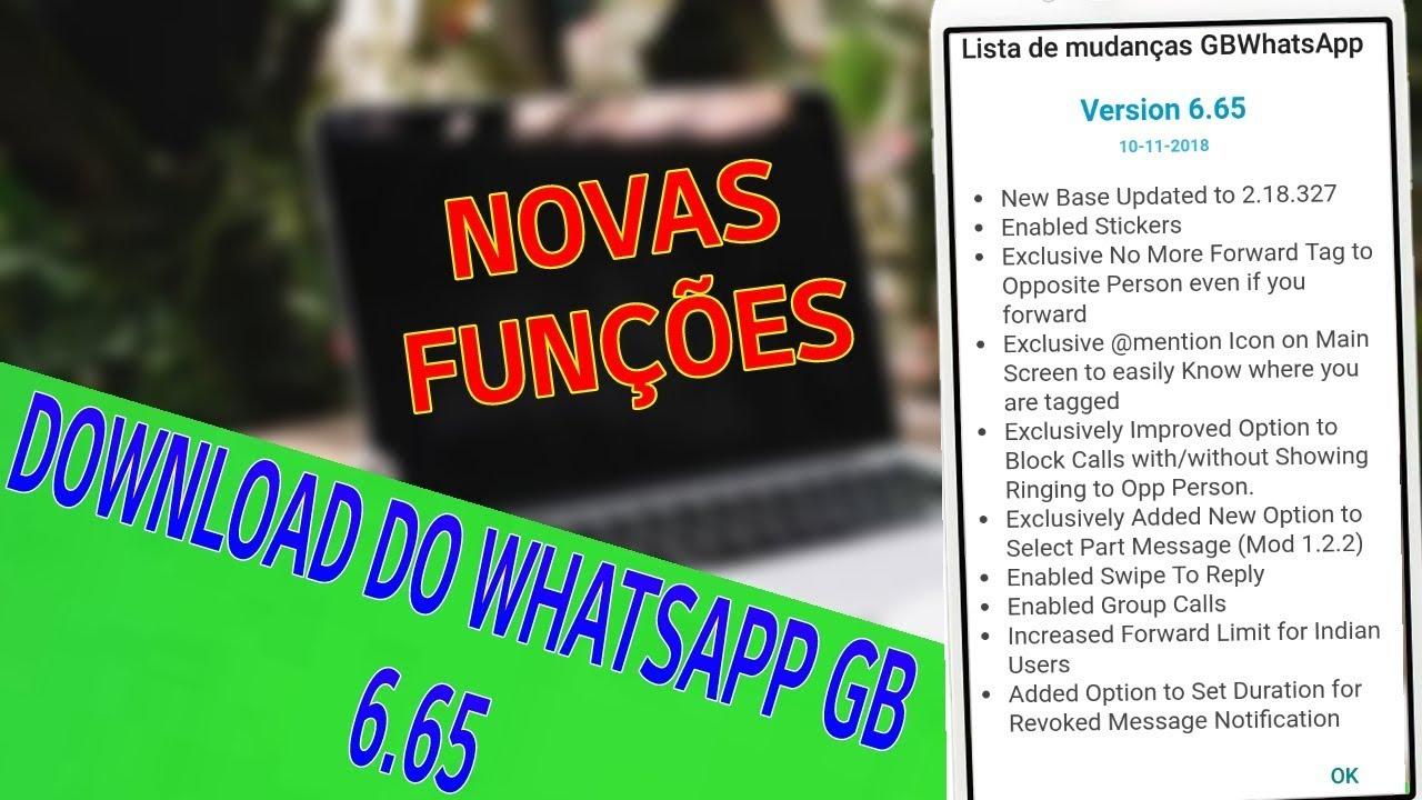 whatsapp gb 2019 download
