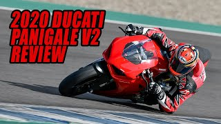 2020 Ducati Panigale V2 Review