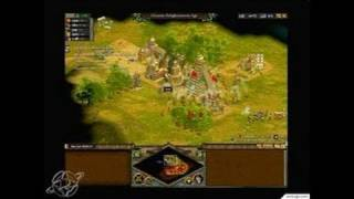 Rise of Nations PC Games Gameplay - Capturing a city