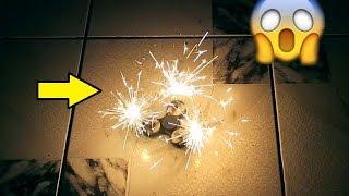 Am Facut un Fidget Spinner cu artificii ! ( Zici ca e OZN )
