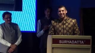 Shri. Suri Shandiya, Global Head of HSBC Bank was at SGIS's 21st Foundation Day