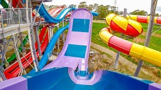 Wet 'n' Wild Sydney - Half Pipe | Boomerango Water Slide