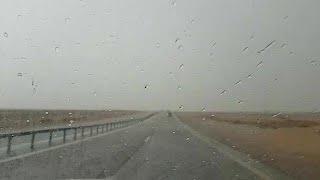 ברד ב יציאה מ אילת מזג אוויר גשם דרום