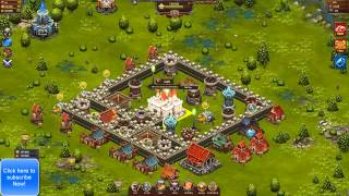 Throne Rush | Defense Tips And Tricks For Throne Rush Level 6 castle
