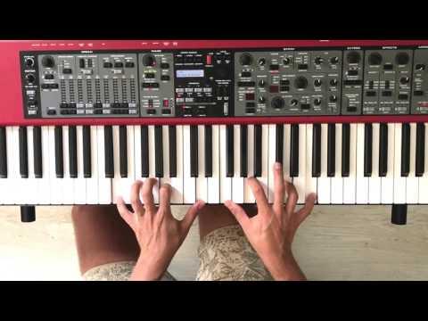 Lukáš Adamec | Horúca láska (piano tutorial) by ORiKE