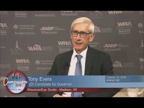 Campaign 2018: Tony Evers (D) Candidate for Governor