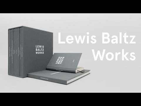 Lewis Baltz - Works (with a commentary by Gerhard Steidl)