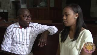Announcements with Victoria Rubadiri and George Njuguna