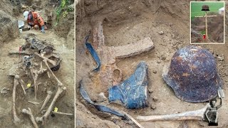 Video Bloody WWII Brandenburg battle are discovered, still wearing their boots and helmets download MP3, 3GP, MP4, WEBM, AVI, FLV Mei 2018