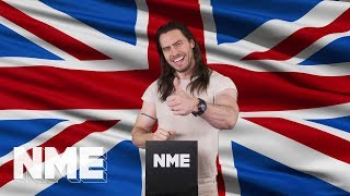 Andrew WK has a very important message for the people of Britain