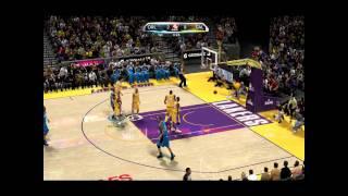 NBA 2K10 PC GAMEPLAY Lakers - Magic