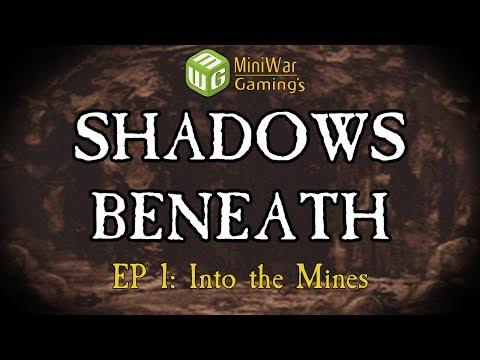 Into the Mines - Dark Heresy: Shadows Beneath RPG Show Episode 1