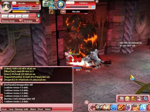 Luna Plus Indonesia (Private Server) Job Destroyer Hunting in Dungeon