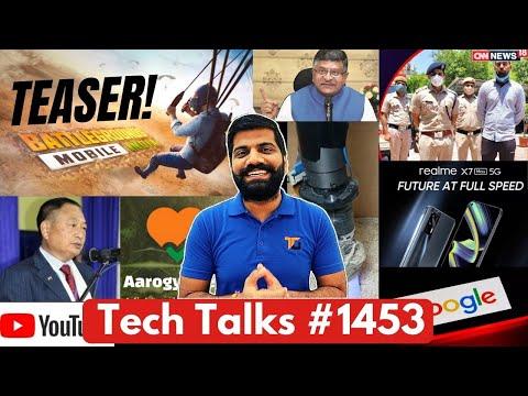 Tech Talks #1453 - BGMI New Teaser, Ninong Ering Against PUBG, Reno 6, Vivo Tablet, New Social Media