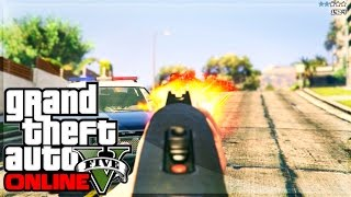 GTA 5 PS4/XB1 Gameplay First Person RAMPAGE! Shooting Cops & More (GTA 5 Gameplay)
